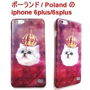MrGUGU&MissGO ミスターググアンドミスゴー ポーランド ネコ King cat phone case iphone 6plus/6splus アイフォン シックス プラス ケース 海外 ブランド