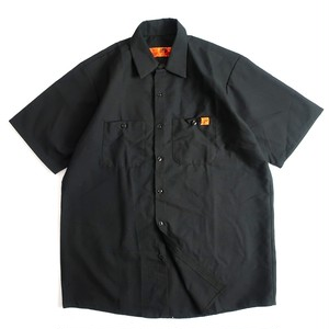 POP AS FUCK x REDKAP Work Shirts (Black x White)