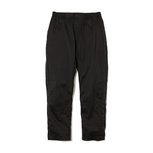 STRETCHED TAPERED PANTS -BLACK