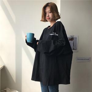 【トップス】ファッションアルファベットプルオーバーTシャツ22972062