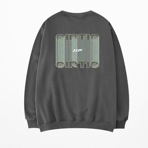 ★UNISEX CirticプリントMTM(Black,Grey) 4900
