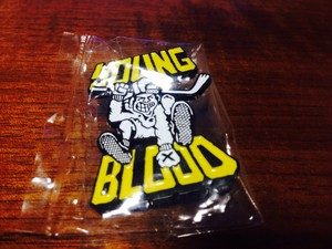 Young Blood Rec pins yellow