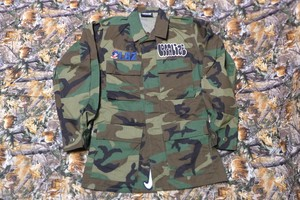 LGZ WOODLAND CAMO ARMY  JACKET T-1