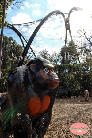 ピカピカのゴリラ遊具~Playground equipment shining gorilla~