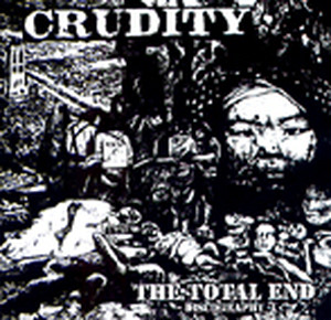 CRUDITY - TOTAL END -discography- cd