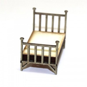 【予約発注】 Single Brass Bed 28S-FAB-029