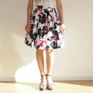 harunaShirasunaオリジナルAラインスカート (~Holly Collection~)