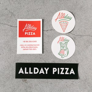 ALLDAY 4 STICKERS SET