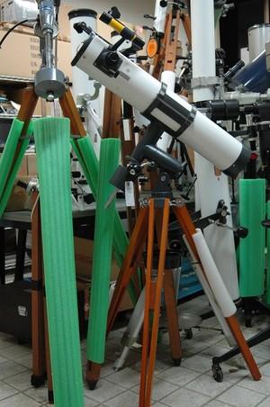 【中古品】 五藤光学研究所 100x800反射赤道儀一式   ※送料着払い