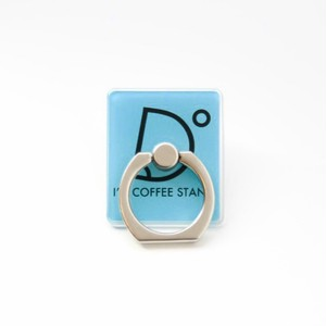 I'm coffee stand Mobile Ring ロゴ(ブルー)