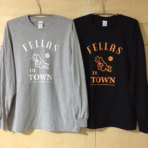 MADE day MAIDER「Fellas In Town」Long Sleeve Tee