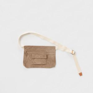 Hender Scheme 【エンダースキーマ】 waist belt bag wide (BEIGE)