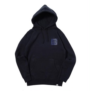 SAME COLOR BOX LOGO PULL PARKA (NAVY) [TH-17AW-013]