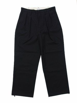 WIDE PANTS BLACK 18AW-FS-31