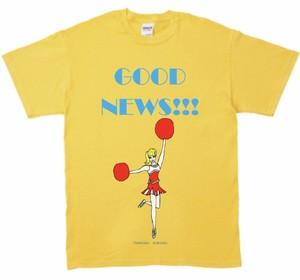 「GOOD NEWS!!! T-shirt 」イエロー