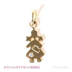 anneチャームシリーズ ダイヤモンド追加