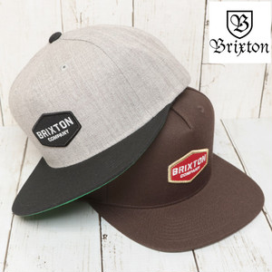 BRIXTON ブリクストン OBTUSE SNAPBACK CAP スナップバックキャップ 00758