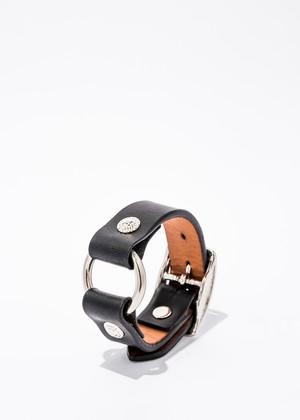 Ring Bracelet black/silver