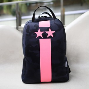 NEON Color pink backpack