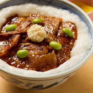 山かけ豚丼/お手軽サイズ2人前