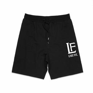 LIVE FIT.リブフィット LF Shorts (ショーツ)【Black】メーカー直輸入品!