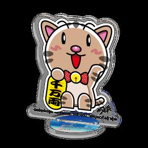 <アクリルフィギュア 50×50>まねきみーちゃん