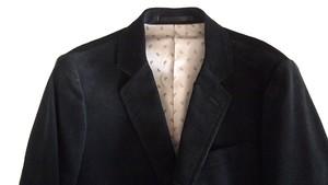 THE NERDYS / SACK corduroy jacket[BLACK]