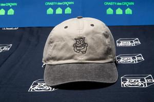 CRASTY 2TONE 6 PANEL CAP (BLACK)