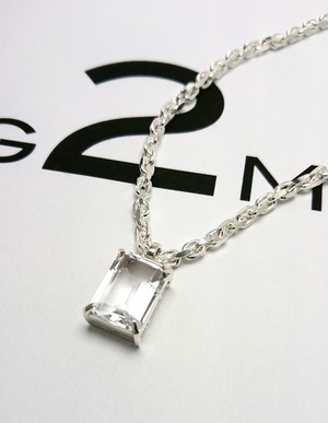【G2MIX】Silver925 クオーツネックレス