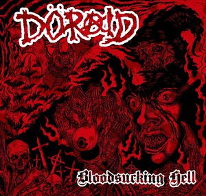DORAID/BLOODSUCKING HELL EP(7inchレコード+プレスCD封入)