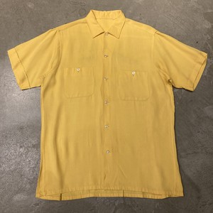 60s〜 Unknown Vintage Bowling Rayon  shirts ヴィンテージ ボーリング レーヨン シャツ