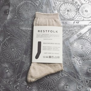 【SILK】Basic Socks