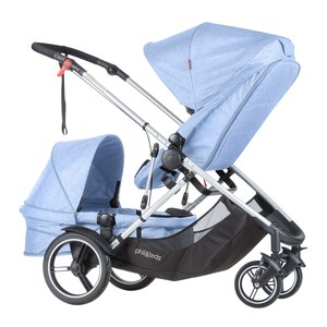 【40%OFF実施中】phil&teds voyager buggy Blue Marl フィルアンドテッズ ボイジャー