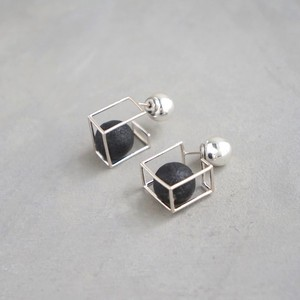 pierced earrings MP-02/earrings ME-02<silver>
