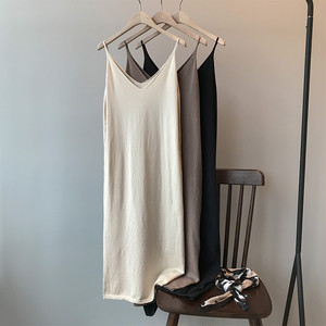 Knit cami long dress ニット キャミ ロング ワンピース