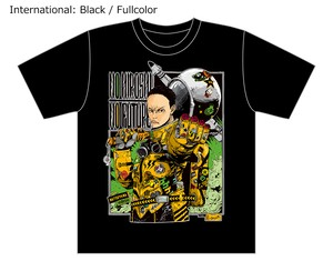 [Black / Fullcolor] Special T-shirt of Collaboration Design by Hiroshi Matsuyama (CyberConnect2) and jbstyle.