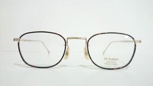 H-fusion HFL-616 06 HAVANA BROWN GOLD(INNER RIM)
