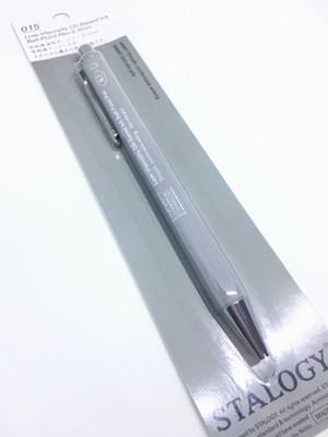 Nitoms STALOGY Low-Viscosity Oil-Based Ink Ball Point Pen Gray
