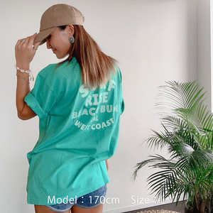BEACH BUM Tee - Mint green