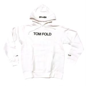 4bet/TOM FOLD/プルオーバーパーカー/ホワイト