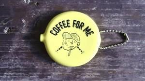 ラバーコインケース【coffee girl】