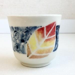手づくり陶芸 湯呑  Pottery Yunomi (teacup),handmade,hand-painted