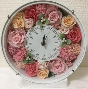 人気のプレゼント花時計(母の日、お祝いに)