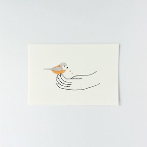 ポストカード ヤマガラ