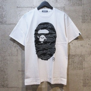 A BATHING APE × UNDEFEATED × TIMBERLAND 18AW TEE WHITE