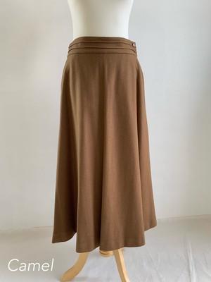 Bilitis dix-sept ans   Wool Suspender Skirt