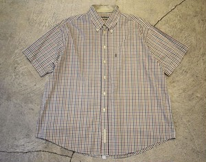 USED Barbour S/S shirt XL S0442