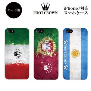 iPhone7対応 ハード型スマホケース 【デザインH006:ビジュアルフラッグデザイン】