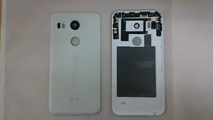 LG Nexus 5X 修理・交換用 背面カバー 各色