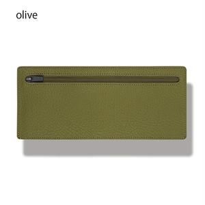 立てて使えるポーチ standing pouch 0921 olive